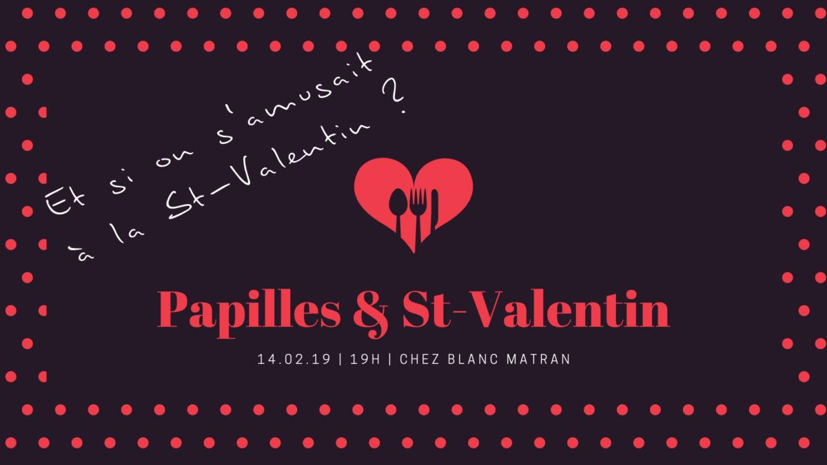 Image titre de la soirée papilles & st-valentin